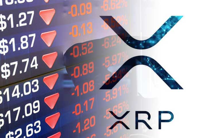 XRP Falls to a New Low against BTC, Could Further Fall to Find New Support