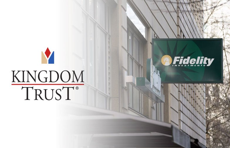 Kingdom Trust Nominates Fidelity Digital Assets For Bitcoin Custodian of Its Choice IRA