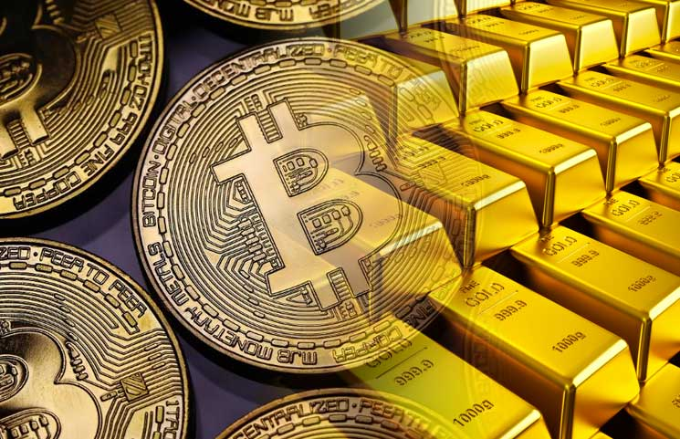 Bitcoin & Gold Make An Inverted V on Fed's Inflation Sacrifice; Stocks Roared Even Higher