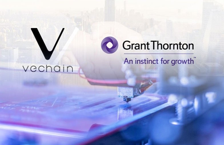 VeChain Partners with Grant Thornton Cyprus to Provide Industrial Oriented Blockchain Solutions