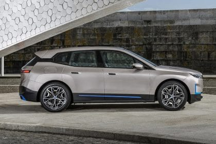 BMW to Launch Electric SUV iX in Early 2022 to Compete with Tesla