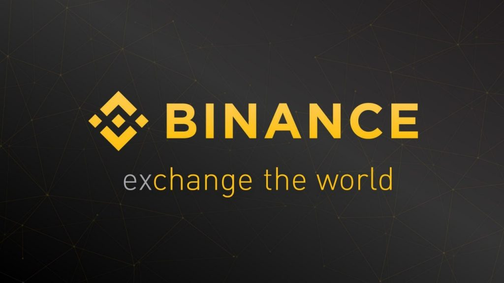 Logotipo y lema de Binance
