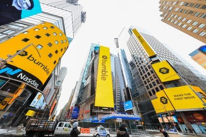 Bumble (BMBL) Shares Soar 63% on Their First Trading Day on Nasdaq