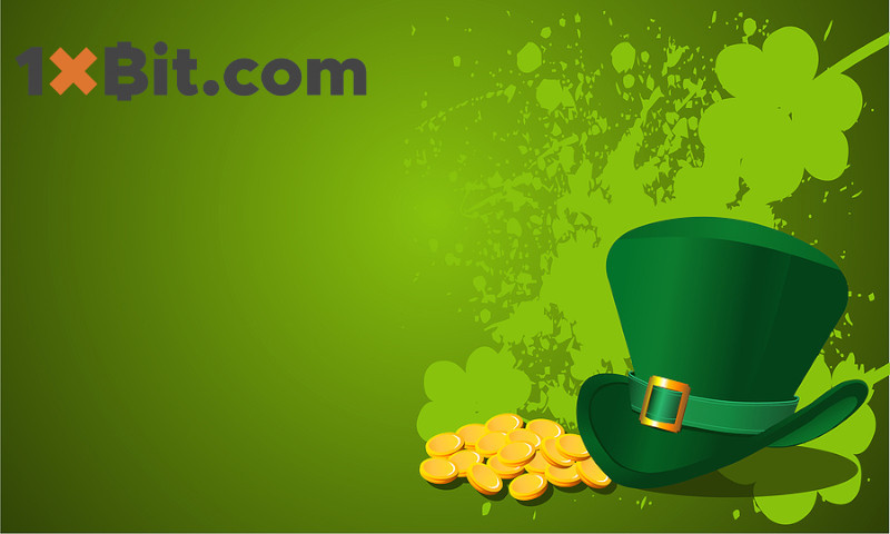 Celebrate St Patrick's Day With 1xBit Casino