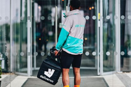 Amazon-Backed Deliveroo Makes London Market Debut with 30% Fall in Price