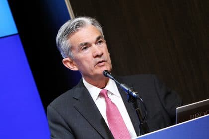 Fed Chairman Jerome Powell Says No Rates Hike Soon, Bitcoin (BTC) Jumps Back to $59K but Is at $55K Again