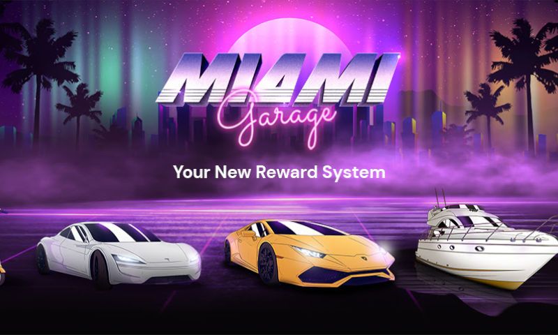 Become a Status Symbol With FortuneJack's Miami Garage