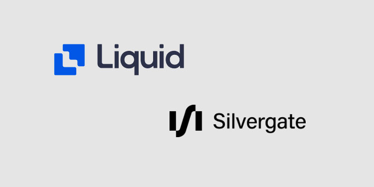 Crypto exchange Liquid.com now supports instant USD settlement on the Silvergate Exchange Network