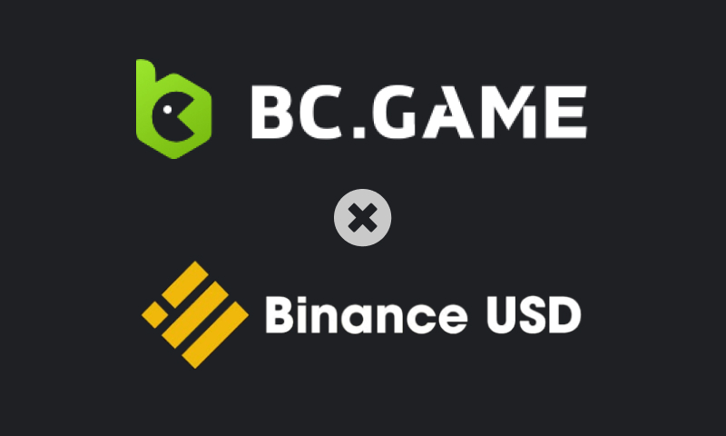 bc game adds binance usd coin
