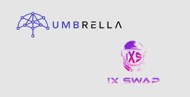 Umbrella to bring real-time data and private asset data to IX Swap's tokenized stock platform